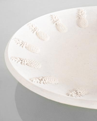 Co-Creative Studio Pina Mini Platter Natural Stonecast Detail.jpg