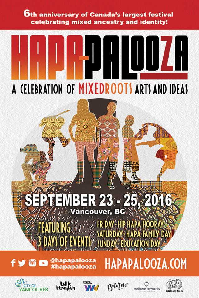 2016 Hapa-palooza Flyer