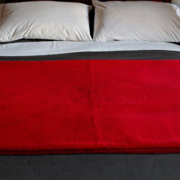 Best Made Company Famous Red Wool Blanket