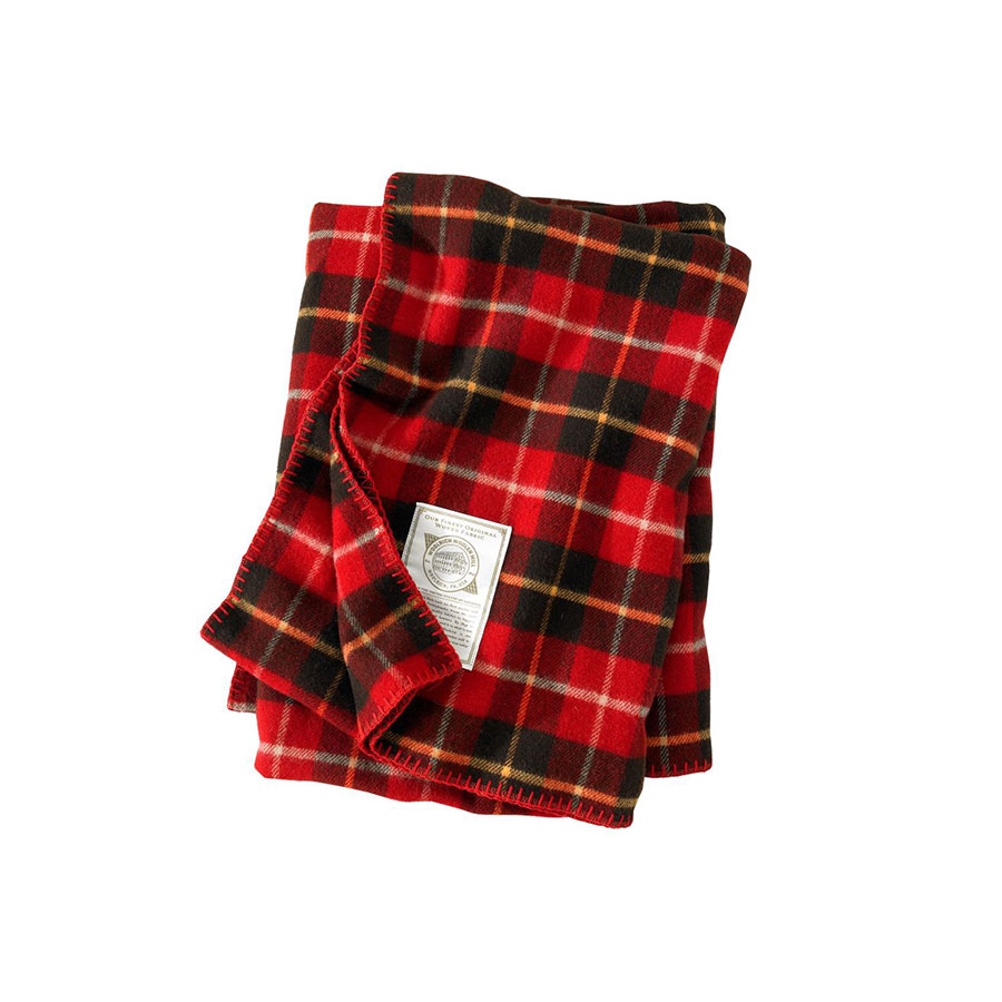 Woolrich Fawn Grove Wool Throw