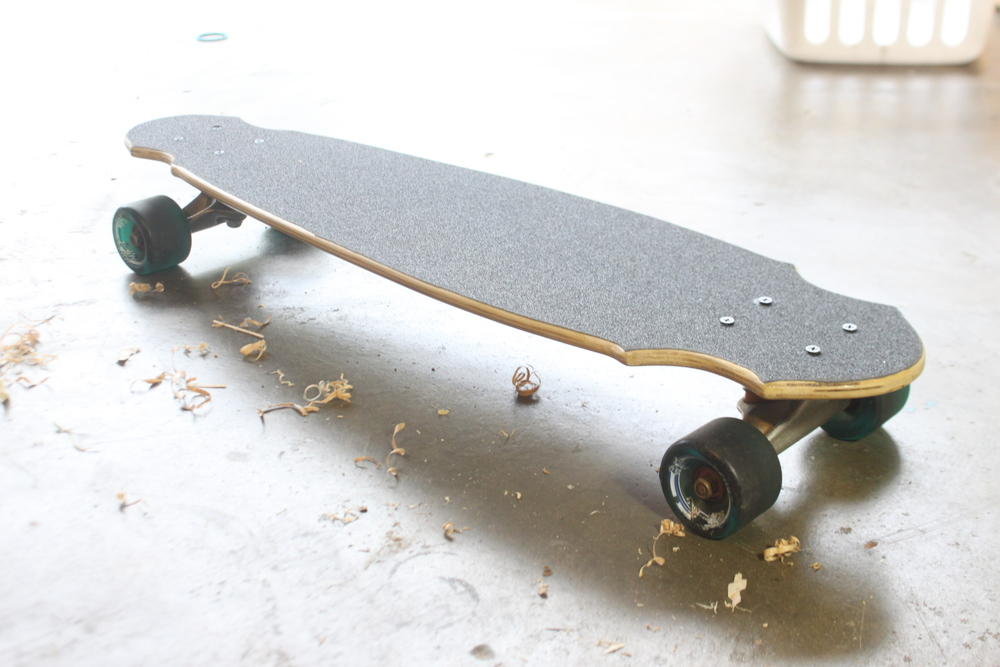 You could make this. Buy the materials at  Sk8Mkkers.com