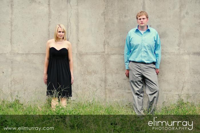 Edgy Engagement Portrait
