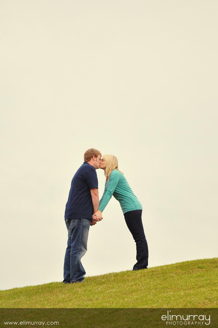 Kissing on Hilltop