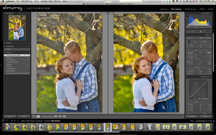 Lightroom Photo Editing