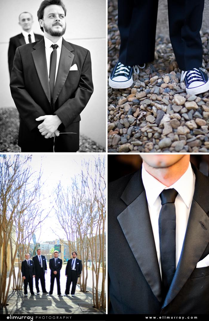 Groomsman Black Tie