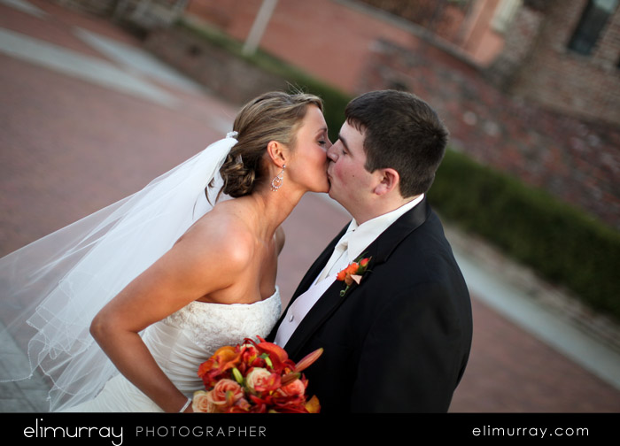 Newlywed's Kiss