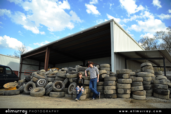 Mound of Tires U-Pull-It Salvage
