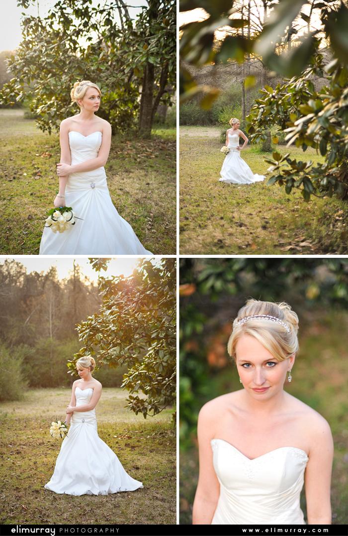 Southern Bridal Portraits