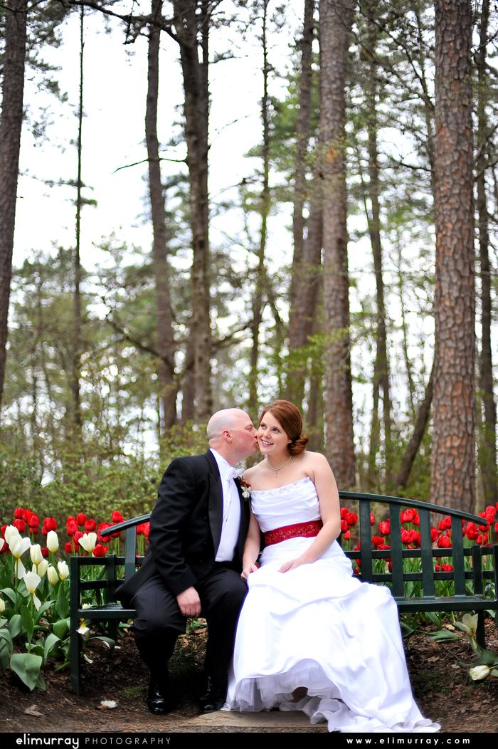Arkansas Bride and Groom