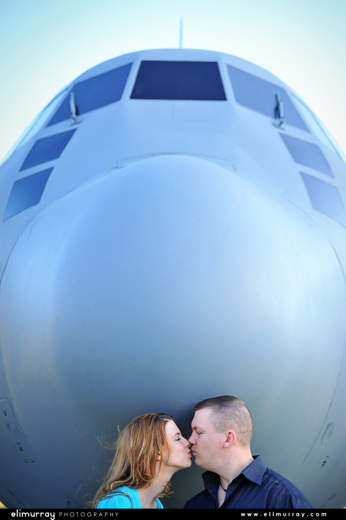 Air Force Engagement Photos