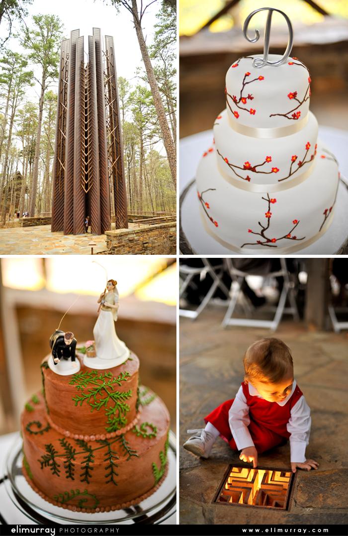 Outdoorsy Wedding Cakes