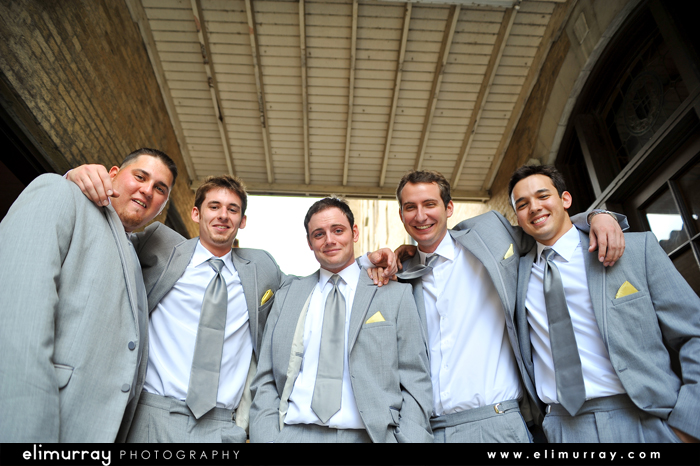 Groomsman Wedding Photos