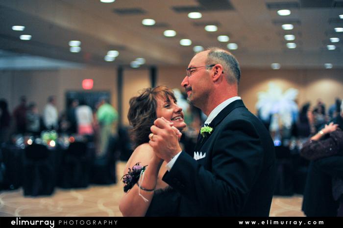 Brides Parents Dancing