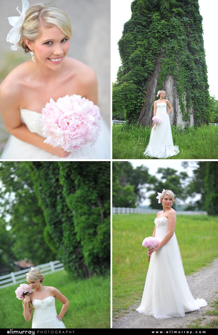 Southern Vintage Bridal Portraits