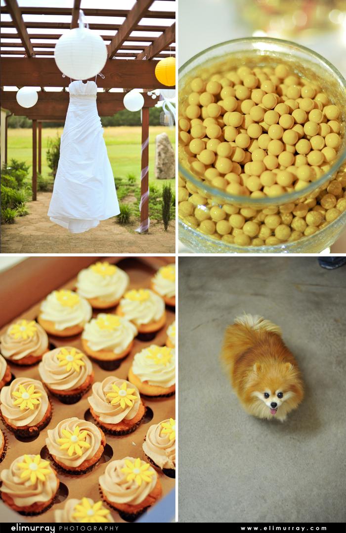 Yellow Wedding Details