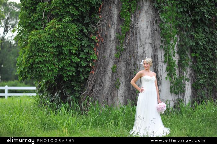 Arkansas Outdoor Bridal Session