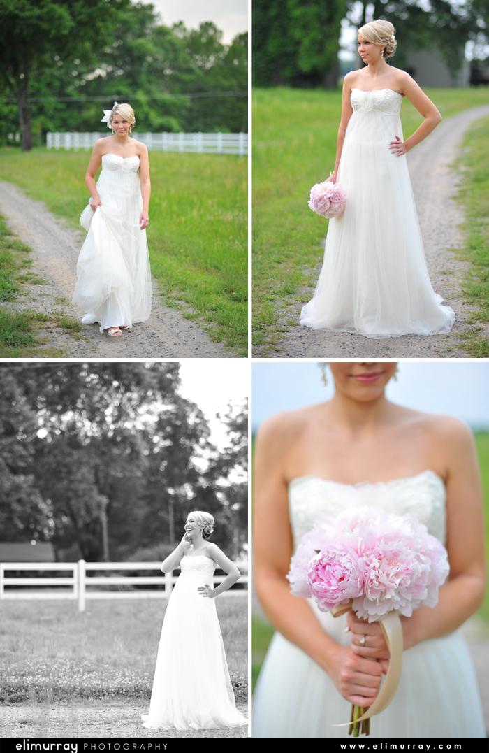 Vintage Arkansas Bridal Portraits