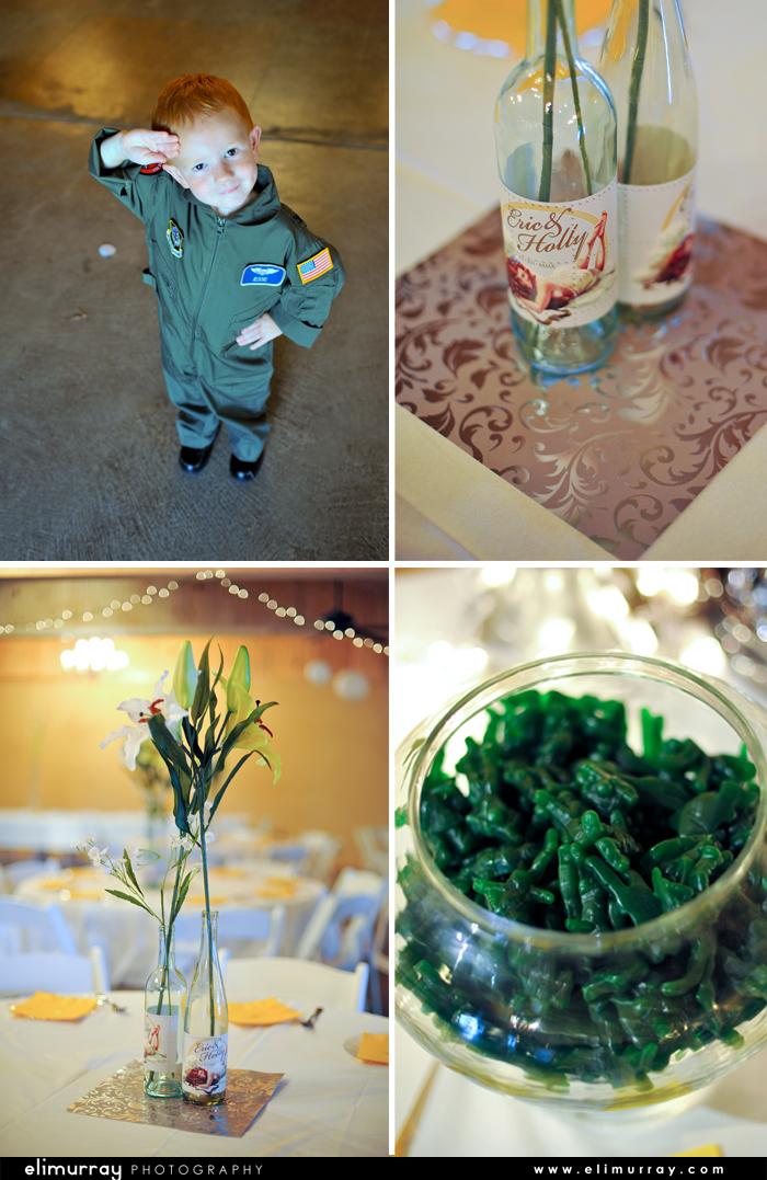US AirForce Wedding Theme