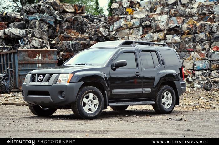 2005 Black Nissan Xterra