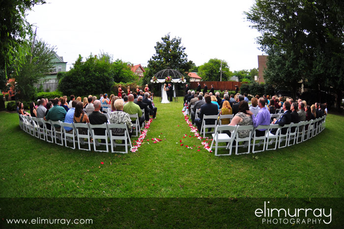 Wedding at Foster Robinson House