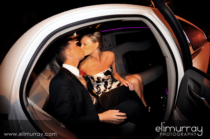 Little Rock Limo Kiss