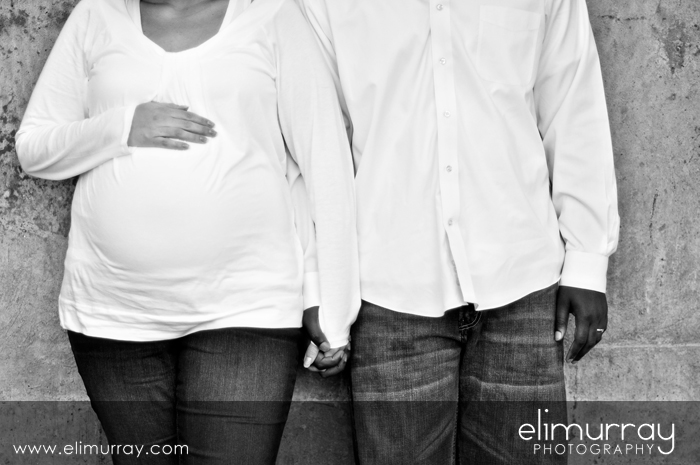 Modern Maternity Portrait