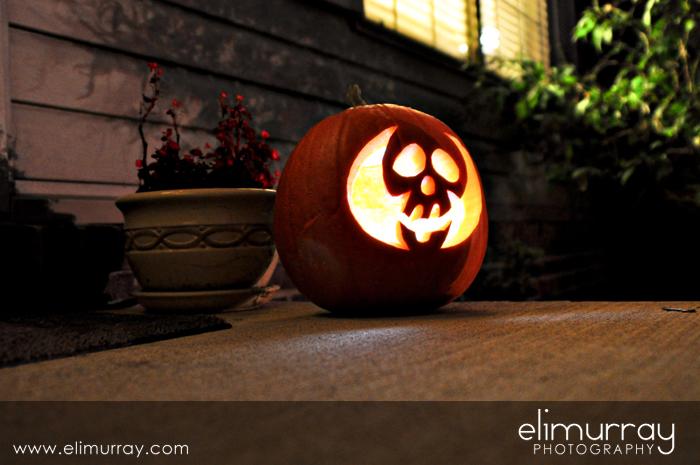 Scull Pumpkin
