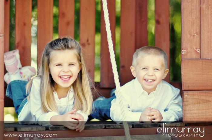 Happy Siblings