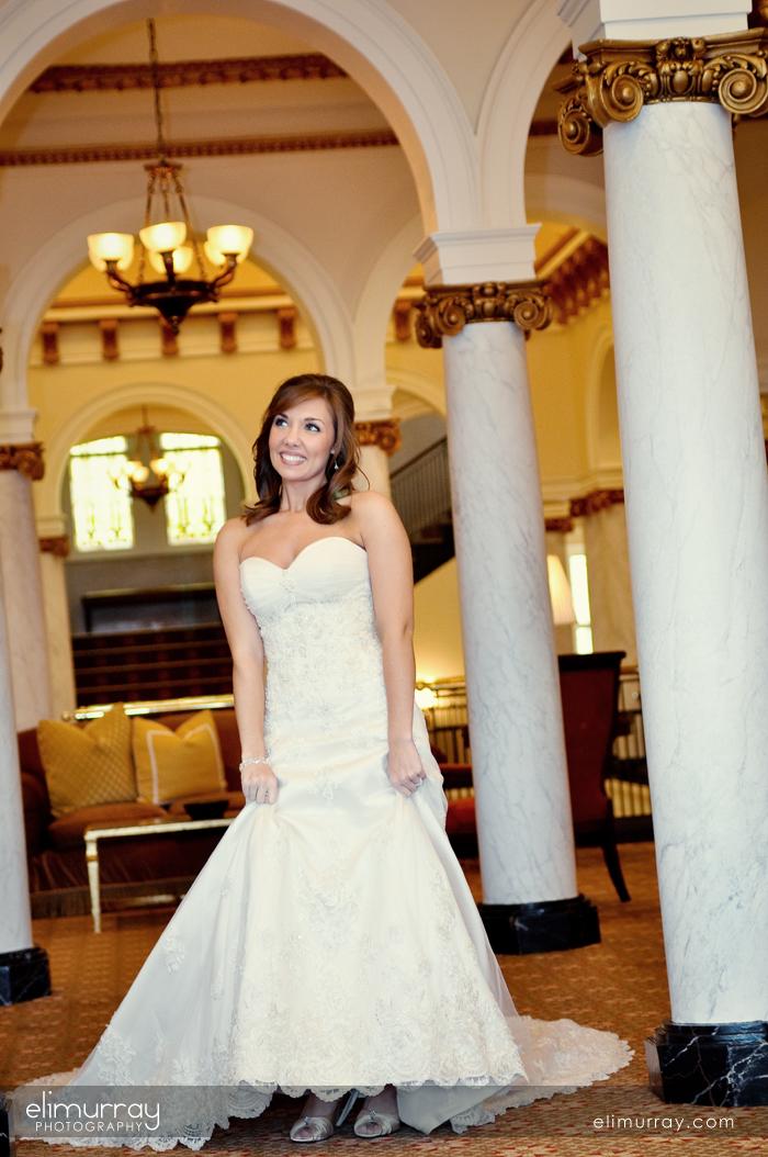 Bridal Portraits Capital Hotel