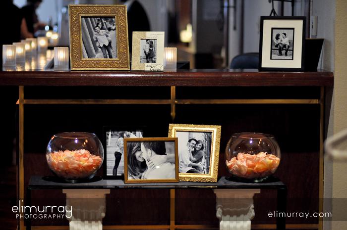 Engagement Photos Display