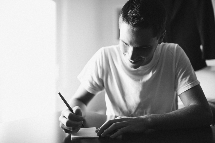 Eli writing vows