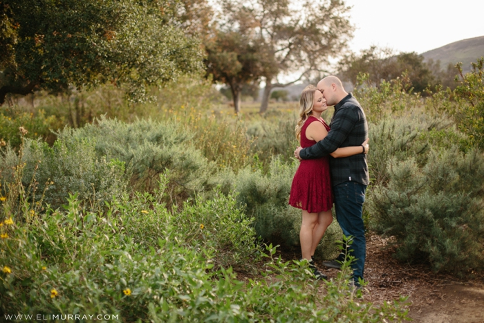 San Juan Capistrano Engagement Photo