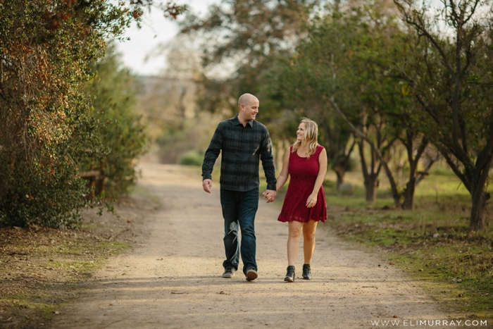 Capistrano Valley Engagement Photos