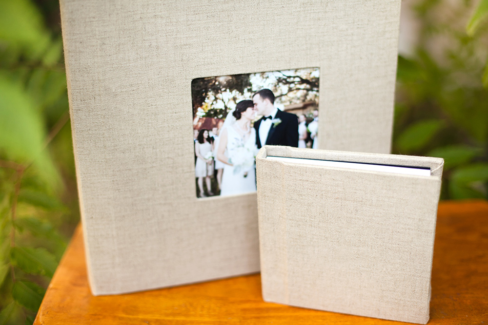 Natural Linen with Cameo Matching Parent Album