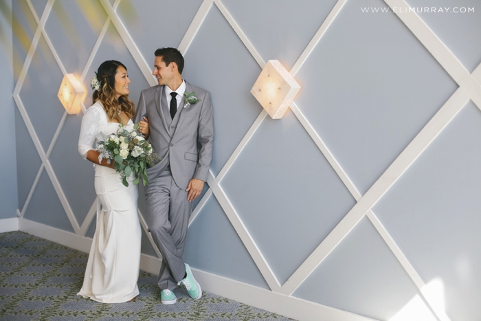 bride and groom portofino hotel