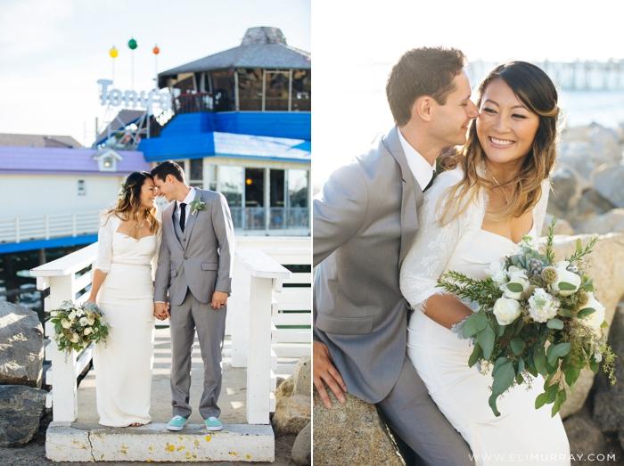 Wedding photography Redondo Beach Pier