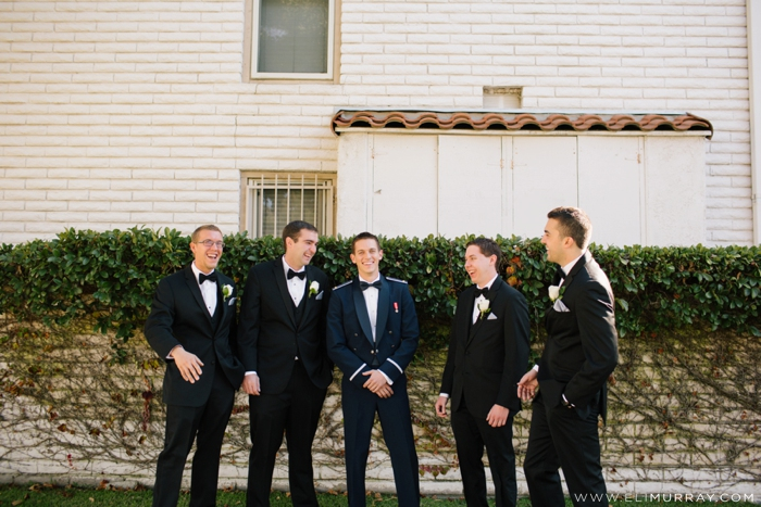 groomsmen in orange county wedding