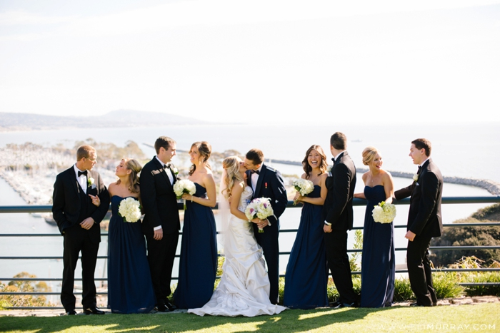 orange county wedding party