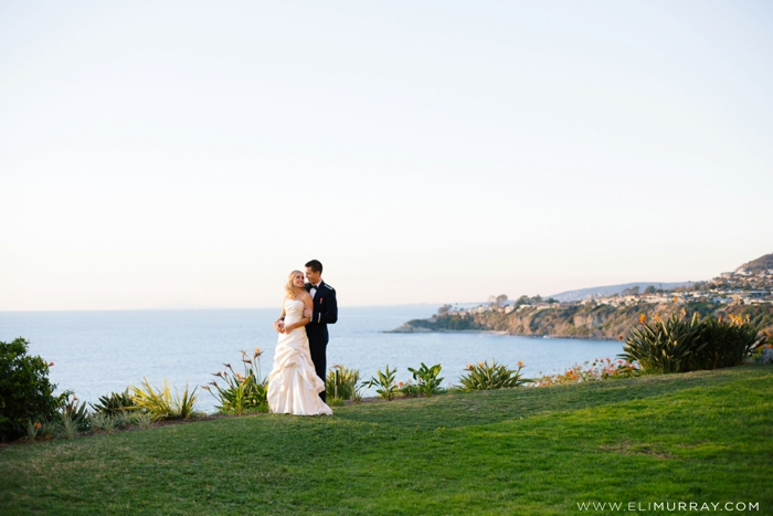 ritz-carlton wedding portrait