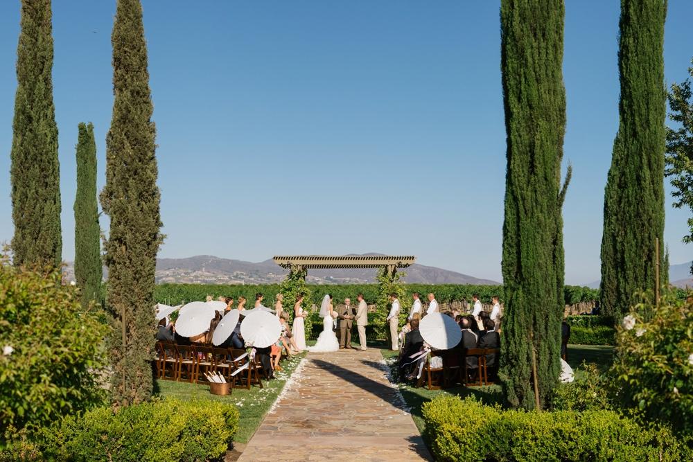 ponte winery wedding temecula