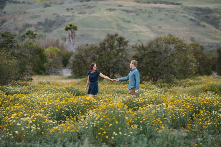 Spring Engagements in the fields of San Juan