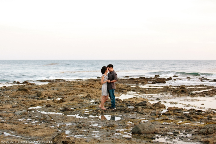 Rocky Beach Engagements