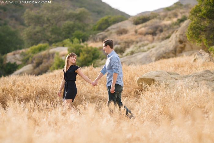 Rustic Canyon Engagement Session