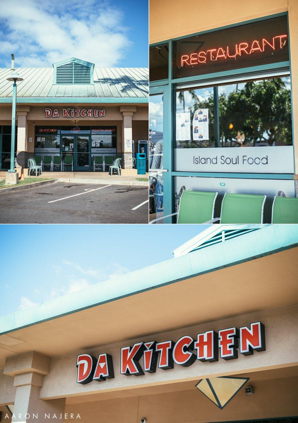 Island Soul Food: Da Kitchen — AARON NAJERA PHOTOGRAPHY