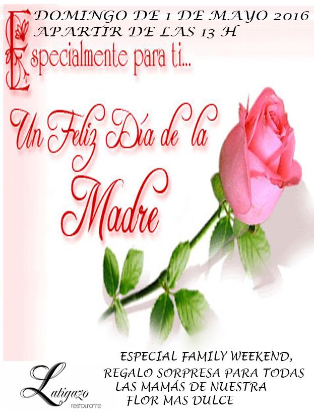Celebra el Día de la Madre en el restaurante Latigazo — LATIGAZO ...