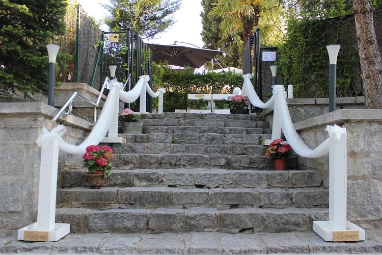Celebración de bodas en el restaurante - finca El Latigazo