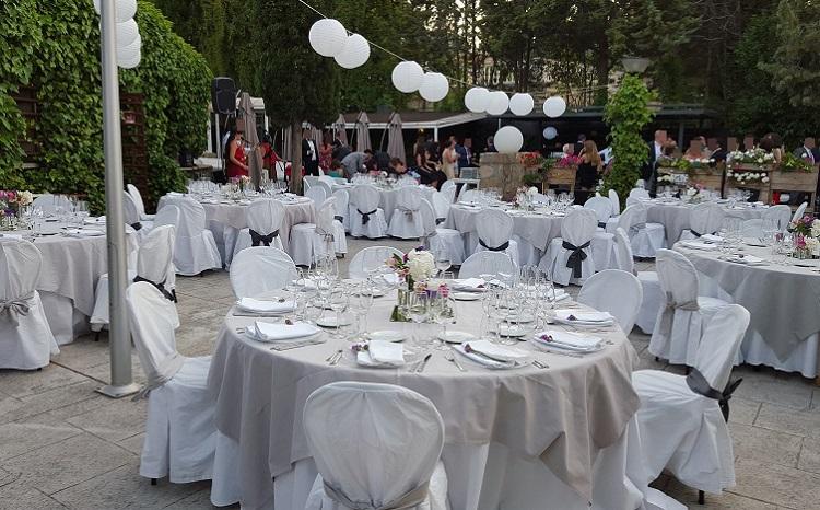 Banquete de boda en terraza - Restaurante Latigazo