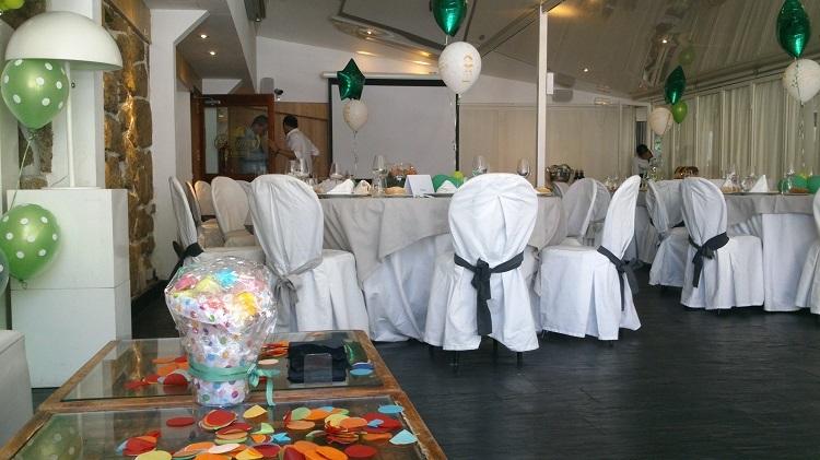 Banquete de comunión - Sala White - Restaurante Latigazo