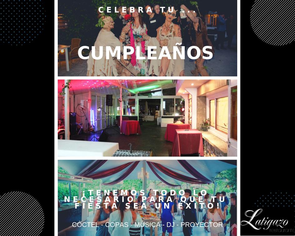 Fiestas de cumpleaños en restaurante El Latigazo.png