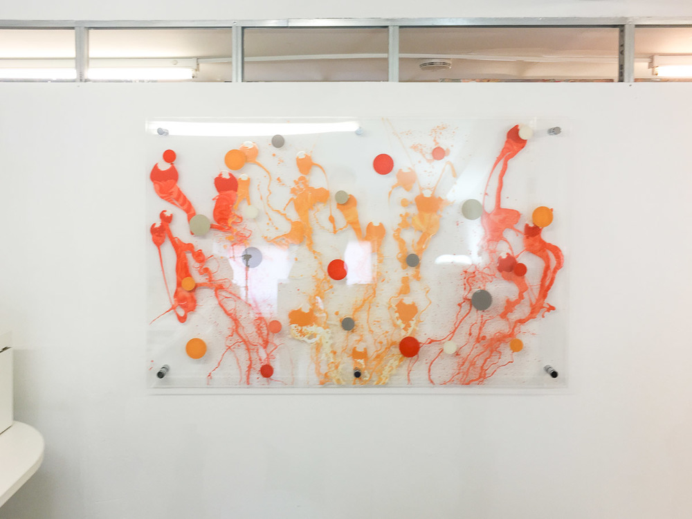Edward Ball Artwork on perspex (the sea in orange)-37-3.jpg